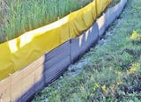 Sidley Diamond Tool 44 in. x 100 ft. Stakable Turbidity Barrier SSTB