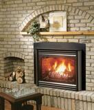 Kingsman 26-1/4 in. Direct Vent Fireplace Ceramic Insert Natural Gas KIDV33N