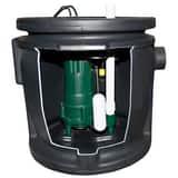 Zoeller 1/2 hp Job Ready Simplex Sewage Package Z9120020