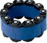 Garlock Link-Seal® 1.38 in. Rubber Link Seal with Stainless Steel Nut and Bolt PLS400S