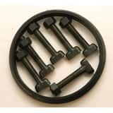IMJBGP Series 18 in. Mechanical Joint C153 Ductile Iron and SBR Bolt Gasket Pack (Less Gland) IMJBGP18