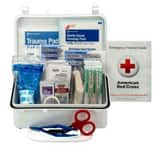 Pac-Kit Safety Equipment #10 Plastic Industrial Weatherproof First Aid Kit in White P6060