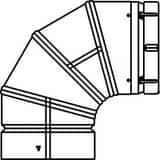Ecco Manufacturing 90 Double Wall Elbow E2014