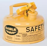 Eagle Type I 1 gal Gas Safety Can in Red EUI10S at Pollardwater