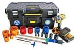 Aqua Tap Ductile Iron/Steel/Plastic Hot Tap Kit AATKKIT