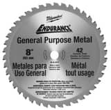 Milwaukee 42 TPI 8 in. Dry Cut Blade M48404515