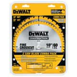 DEWALT 5/8 in. 2-Piece Circular Saw Blade Set DDW3106P5