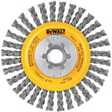 DEWALT 4 in. 5/8-11 in. Carbon Steel String Beaded Wire Wheel DDW4925 at Pollardwater