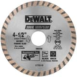 DEWALT 4-1/2 in. High Performance Turbo Blade DDW4725