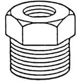 1/2 x 1/8 in. Threaded 150# 316 Stainless Steel Bushing IS6CTBDA