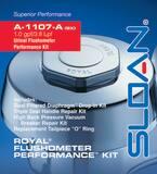 Sloan Valve Royal® A1107ABX Rebuild Kit 1.0 gpf/3.8 LPF Urinal Exposed S3301154