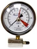 Alliance Manufacturer Reps 4 in. 0-15 psi Face Diaphragm Gas Test Assembly AGT4015SHCX
