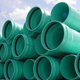 20 ft. x 6 in. DR 25 Gasket PVC Pressure Pipe DR25GPU