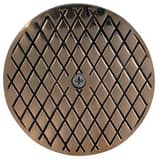 Sioux Chief 851 Series 6-1/8 in. Nickel Bronze Cleanout Round Cover with Screw S851CN4B
