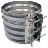 Contech Construction Galvanized Corrugated Hugger Coupling CHCOUP