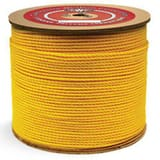 Continental Western Corporation 600 ft. x 3/8 in. Polypropylene Rope in Yellow CON300075