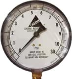 Cherne 0-30 PSI Non-Panel Mounted Pressure Test Gauge C055058