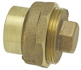 Elkhart Products Corporation 3 in. Brass Flush Cleanout with Plug CCDWVFCOM