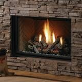 Kingsman 36 in. Fireplace Decorative Top Flue Milli Volt KHBZDV3624N