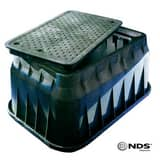 NDS 15 x 17 x 30 x 18 in. Valve Box with Lid N226BCB