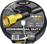 Jackson 5/8 in. X 50 Ft. Crushproof Commercial Duty Rubber Hose in Black A4008300A