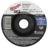 Milwaukee® 4-1/2 x 1/8 in. Grinding Wheel in Black M49944510
