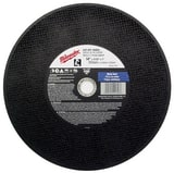 Milwaukee 14 in. Abrasive Cutoff Wheel in Black M49941405