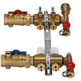 Zurn Pex Accuflow® 3/8 in. 2-Port Mainfold Kit QQHPM2