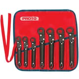 Stanley-Proto 7-Piece Ratcheting Flare Nut Wrench Set PJ3800A