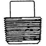 Threaded 6000# Forged Steel Square Plug FSTSPJ