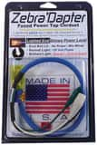 Zebra Instruments 120 V 2-Lighted Female Cheater Cord ZZD002