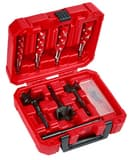 Milwaukee 7-Piece Plumbers Selfeed Bit Kit M49220065 at Pollardwater