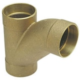 Drainage Waste and Vent Copper x Solder Joint Long Turn Wye CCDWVLTTY