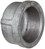 Threaded 150# Galvanized Malleable Iron Cap IGCAP