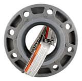 Ipex USA Corzan® Socket Weld Schedule 80 Heavy Duty Van Stone Style CPVC Flange CP80VSS