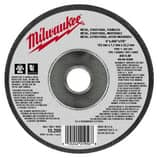 Milwaukee 6 x 0.045 x 7/5 in. Type 1 Aluminum Oxide Cutoff Wheel M49946300