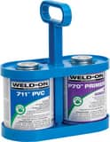 Weld-On Can-Tote® 2 qt Cement and Primer Carrier in Blue I12891