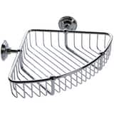 London Terrace Corner Shower Basket Polished Chrome G26554PC