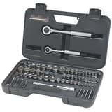 Blackhawk Hand Tools 1/4 x 3/8 in. SAE and Metric Socket Wrench Set B97065 at Pollardwater
