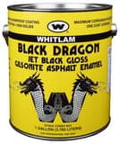 J.C. Whitlam Black Dragon 1 gal Asphalt Paint in Black WBD1