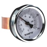 Watts Series TBP 32 to 248F Bimetal Thermometer W0615659