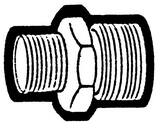 Holyoke Fittings 3/4 x 3/4 in. Male Garden Hose to Male Pipe Adapter H105112MPMH