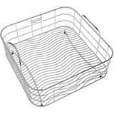 Elkay 13 x 13 in. Rinsing Basket in Stainless Steel ELKWRB1414SS