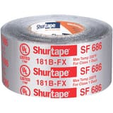 Shurtape SF 686 3 in. x 100 ft. Silver Aluminum Foil Tape SSF686M100