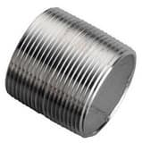 1-1/4 in. Close Threaded Both End Schedule 80 304L Stainless Steel Seamless Nipple DS84SNCL
