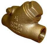 FNW Bronze Solder Check Valve FNW1242 at Pollardwater