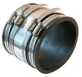 Fernco Cast Iron or Plastic Flexible Coupling F1056RC