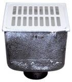 Zurn 8 x 8 x 8 in. Floor Mount Cast Iron Floor Sink ZZ19103NL
