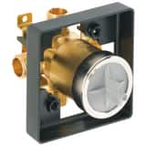 Brizo MultiChoice™ Hot Ceramic Tub and Shower Valve Forged Brass Body DR60000UNBX