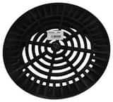 NDS 10 in. Round Grate in Black N1040